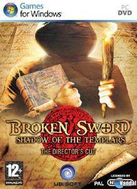 Portada oficial de Broken Sword: Shadow of the Templars Director's Cut para PC