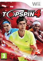 Portada oficial de Top Spin 4 para Wii