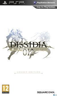 Portada oficial de DISSIDIA 012 [duodecim] FINAL FANTASY para PSP