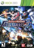 Portada oficial de Dynasty Warriors: Gundam 3 para Xbox 360