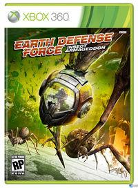 Portada oficial de Earth Defense Force: Insect Armageddon para Xbox 360
