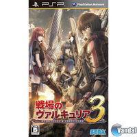 Portada oficial de Valkyria Chronicles 3 para PSP