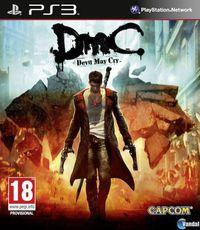 Portada oficial de DmC para PS3