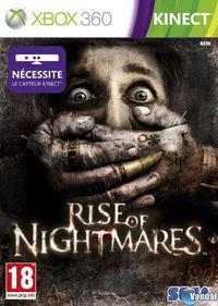 Portada oficial de Rise of Nightmares para Xbox 360