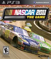 Portada oficial de NASCAR 2011 para PS3