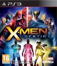 Portada oficial de X-Men: Destiny para PS3