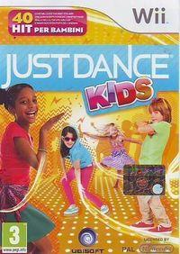 Portada oficial de Just Dance Kids para Wii