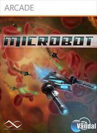 Portada oficial de MicroBot XBLA para Xbox 360