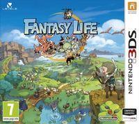 Portada oficial de Fantasy Life para Nintendo 3DS