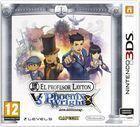Portada oficial de El Profesor Layton vs. Phoenix Wright: Ace Attorney para Nintendo 3DS