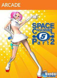 Portada oficial de Space Channel 5 Part 2 XBLA para Xbox 360