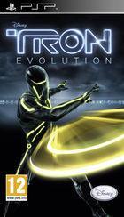Portada oficial de Tron: Evolution para PSP