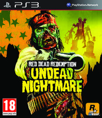 Portada oficial de Red Dead Redemption: Undead Nightmare para PS3