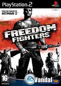 Portada oficial de Freedom Fighters para PS2