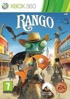 Portada oficial de Rango The Video Game para Xbox 360