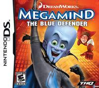 Portada oficial de Megamind para NDS