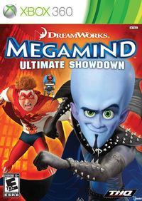Portada oficial de Megamind para Xbox 360