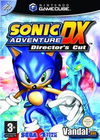 Portada oficial de Sonic Adventure DX Director's Cut para GameCube