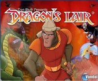 Portada oficial de Dragon's Lair PSN para PS3