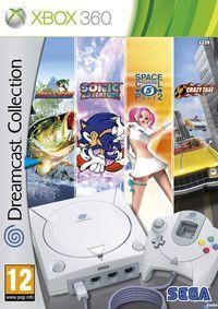 Portada oficial de Dreamcast Collection para Xbox 360