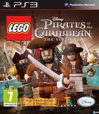 Portada oficial de Lego Piratas del Caribe para PS3