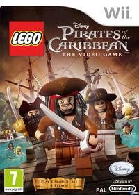 Portada oficial de Lego Piratas del Caribe para Wii