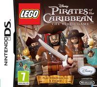 Portada oficial de Lego Piratas del Caribe para NDS