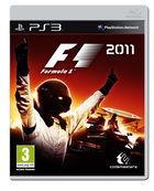 Portada oficial de F1 2011 para PS3