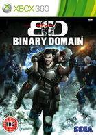 Portada oficial de Binary Domain para Xbox 360