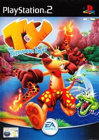 Portada oficial de Ty the Tasmanian Tiger para PS2
