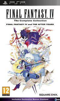 Portada oficial de Final Fantasy IV Complete Collection para PSP