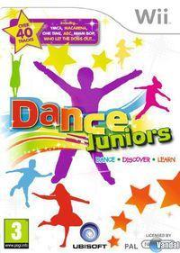 Portada oficial de Dance Juniors para Wii