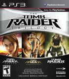 Portada oficial de Tomb Raider Trilogy para PS3