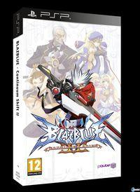 Portada oficial de BlazBlue: Continuum Shift II para PSP