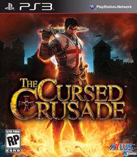 Portada oficial de The Cursed Crusade para PS3