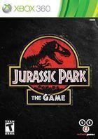 Portada oficial de Jurassic Park: The Game para Xbox 360