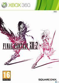 Portada oficial de Final Fantasy XIII-2 para Xbox 360
