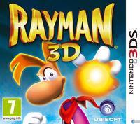 Portada oficial de Rayman 3D para Nintendo 3DS