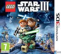 Portada oficial de LEGO Star Wars III: The Clone Wars para Nintendo 3DS