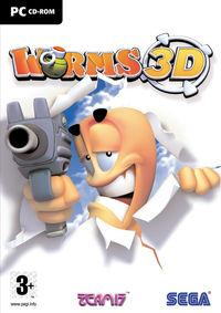 Portada oficial de Worms 3D para PC