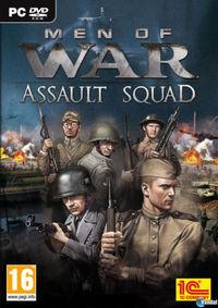 Portada oficial de Men of War: Assault Squad para PC