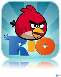 Portada oficial de Angry Birds RIO para iPhone