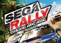 Portada oficial de Sega Rally Online Arcade PSN para PS3