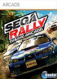 Portada oficial de Sega Rally Online Arcade XBLA para Xbox 360