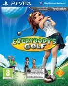 Portada oficial de Everybody's Golf para PSVITA