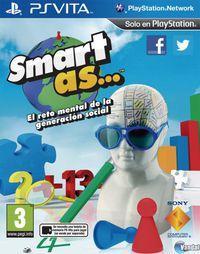 Portada oficial de Smart As para PSVITA