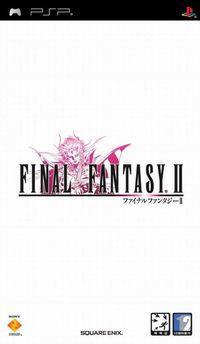 Portada oficial de Final Fantasy II PSN para PSP