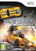 Portada oficial de Transformers: El lado oscuro de la luna para Wii