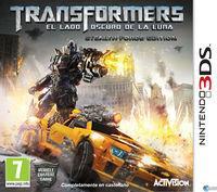 Portada oficial de Transformers: El lado oscuro de la luna para Nintendo 3DS