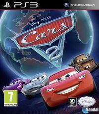 Portada oficial de Cars 2: El Videojuego para PS3